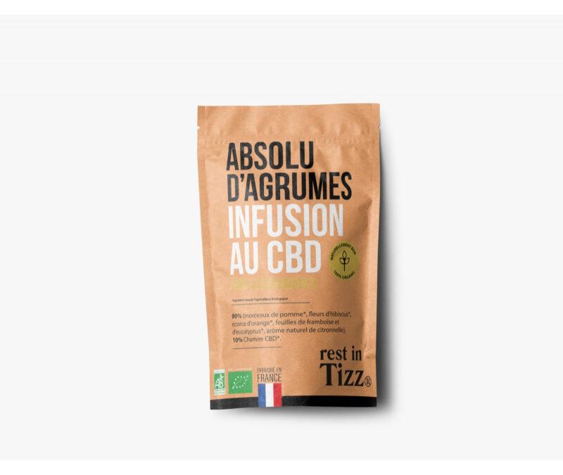 INFUSION AU CBD ABSOLU D'AGRUMES