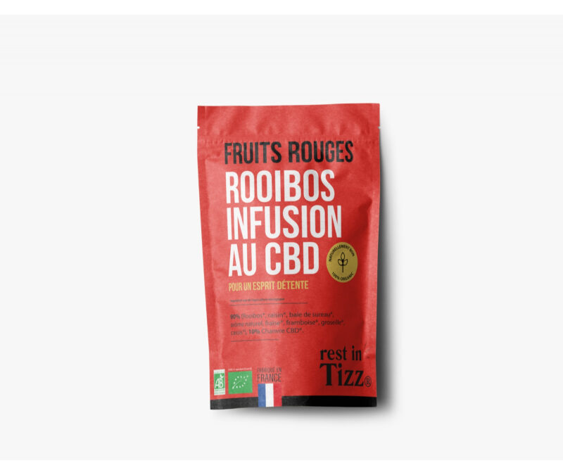 ROOIBOS INFUSION BIO CBD FRUITS R